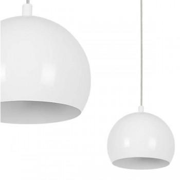 Lampa wisząca BALL WHITE 120cm