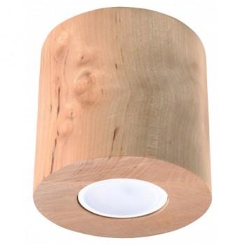 Spot sufitowy drewniany...
