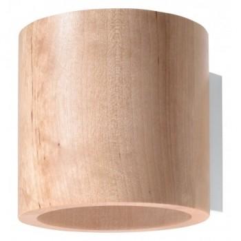 Kinkiet drewniany ORBIS...