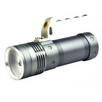 Latarka LED z uchwytem na...