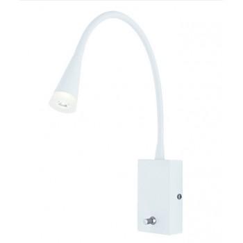 Lampka kinkiet- biały 3W z...