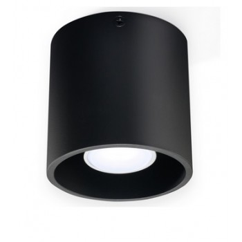 Plafon czarny