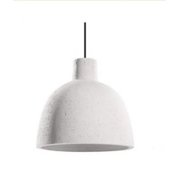 Lampa wisząca struktura beton